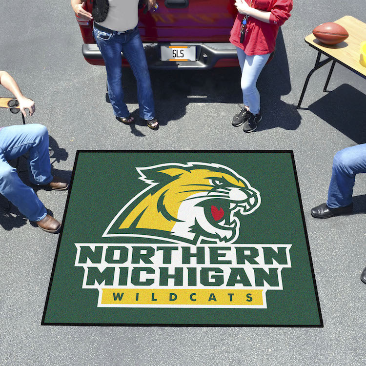 Northern Michigan Wildcats TAILGATER 60 x 72 Rug