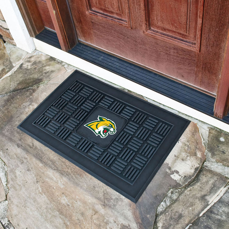 Northern Michigan Wildcats MEDALLION Vinyl Door Mat