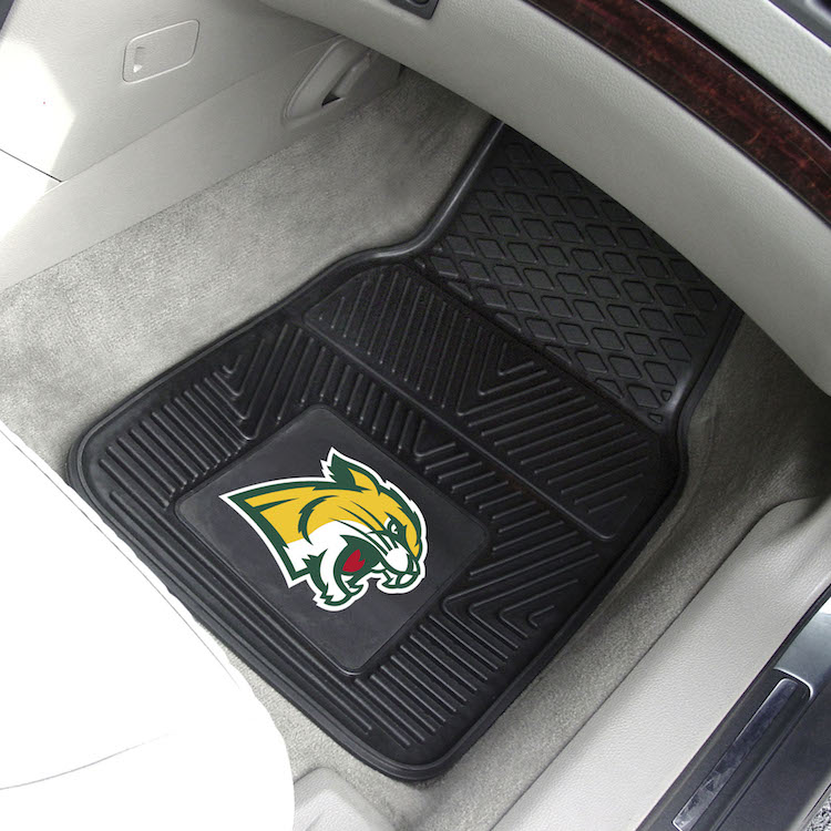 Northern Michigan Wildcats Car Floor Mats 18 x 27 Heavy Duty Vinyl Pair