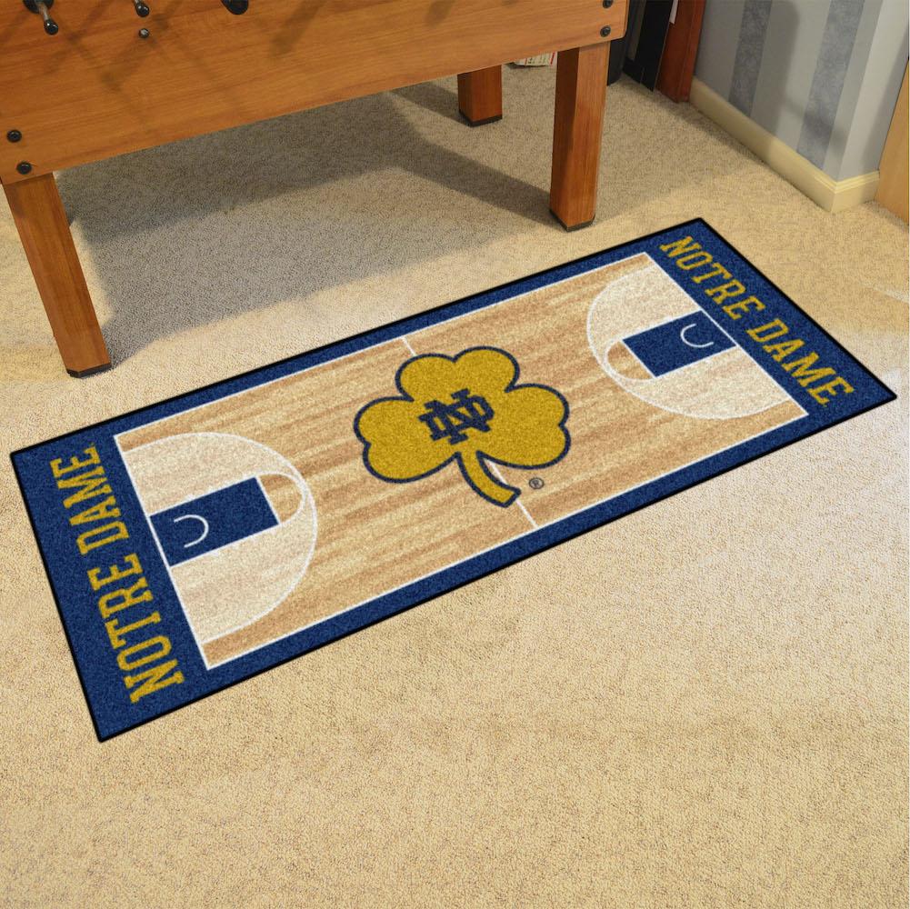 Notre Dame Fighting Irish 30 X 72 Basketball Court Carpet