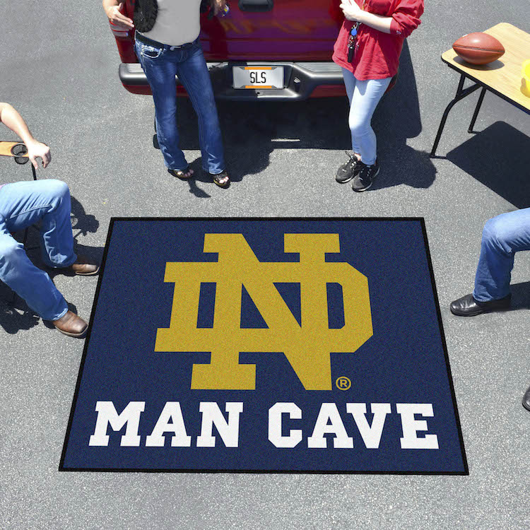 Notre Dame Fighting Irish MAN CAVE TAILGATER 60 x 72 Rug