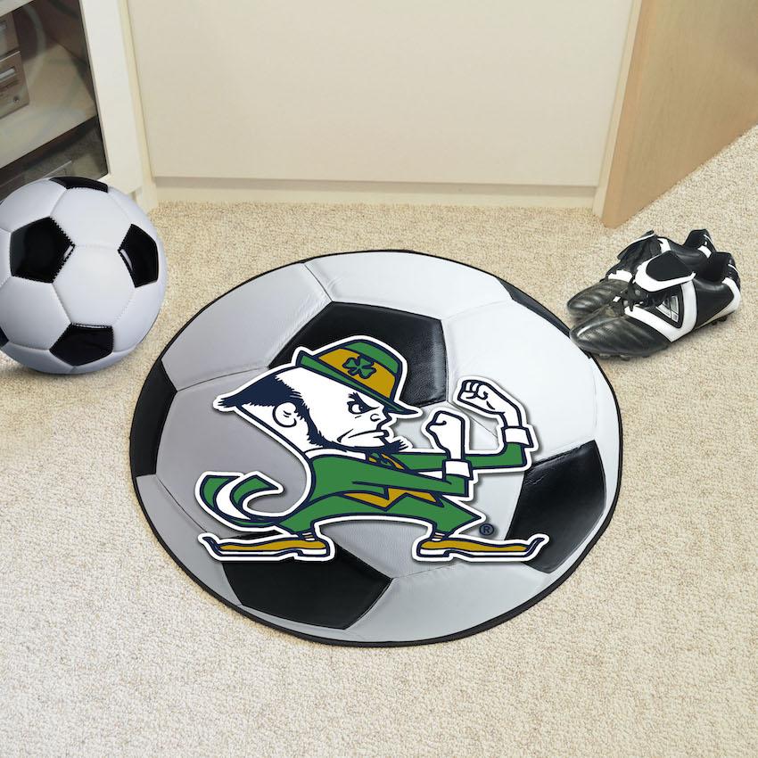 Notre Dame Fighting Irish Soccer Ball Floor Mat
