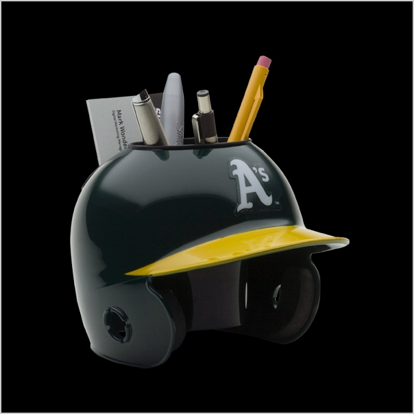Oakland A's Mini Helmet Desk Caddy