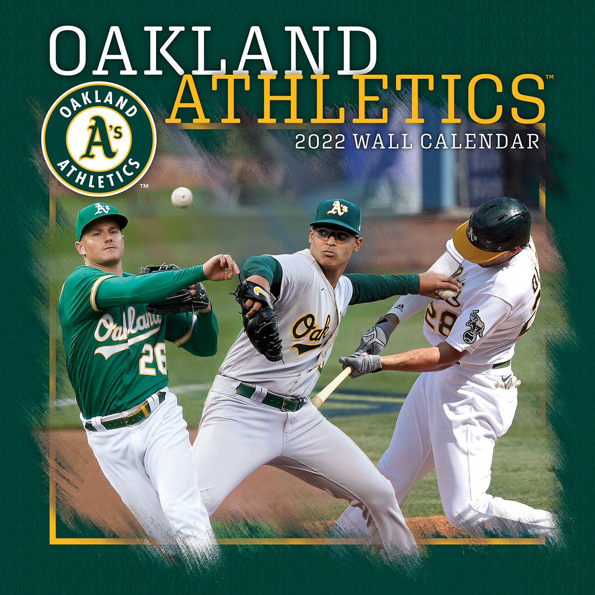 Oakland A's 2019 Mini Wall Calendar