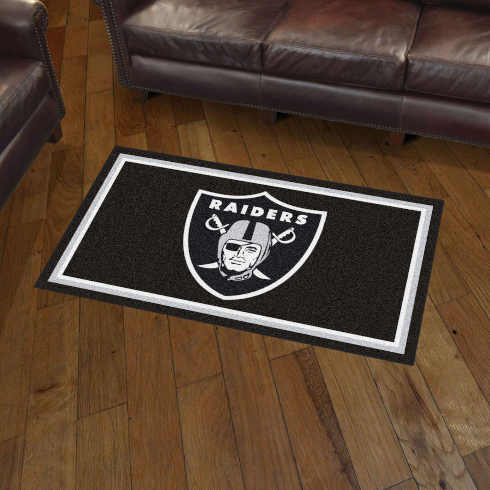 Oakland Raiders 3x5 Area Rug Buy At Khc Sports