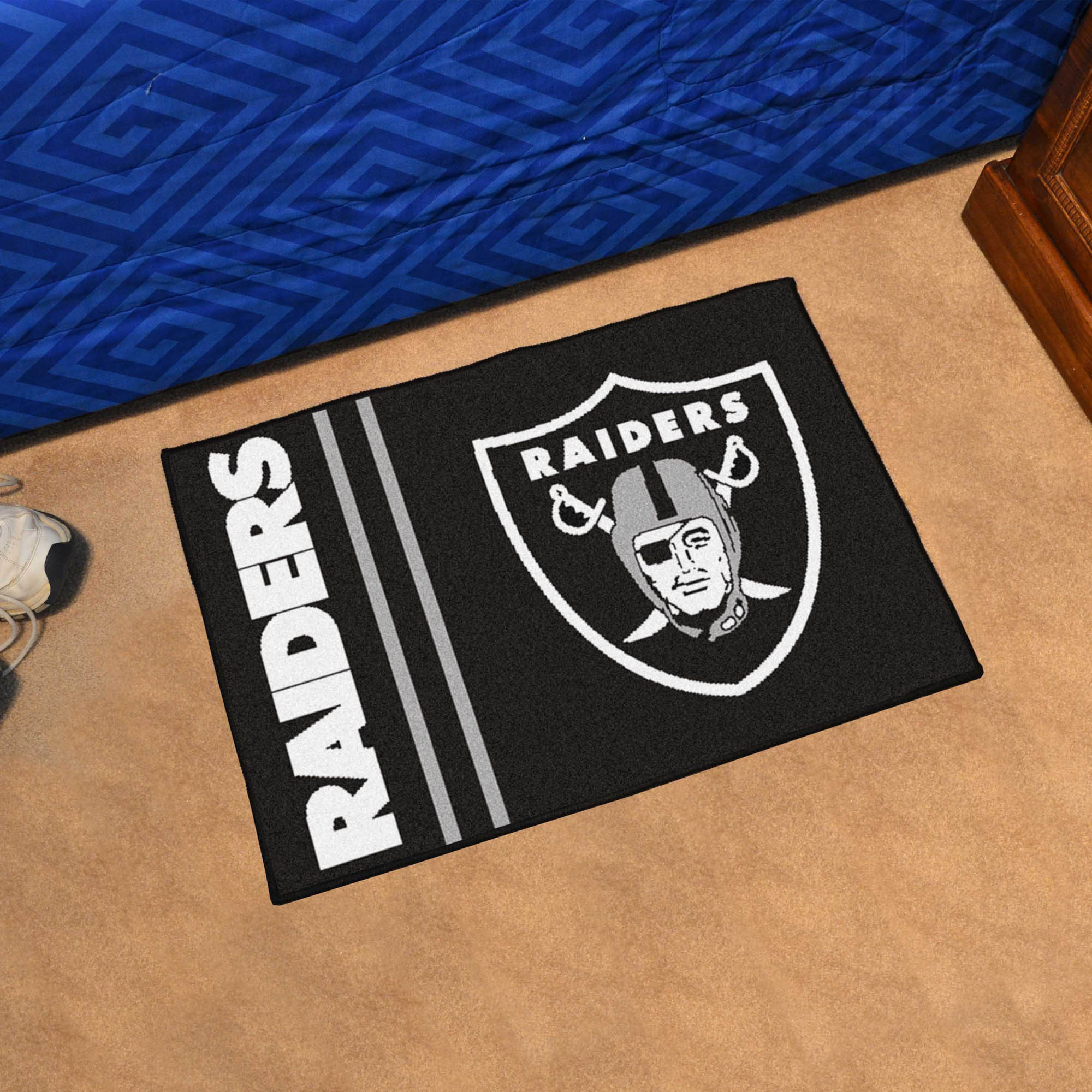 Oakland Raiders 20 x 30 Entry Mat
