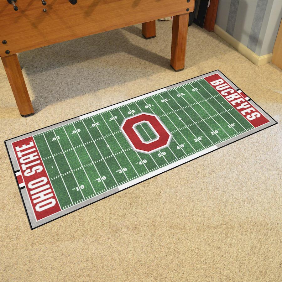 Ohio State Buckeyes Football Field Runner 30 X 72 Floor