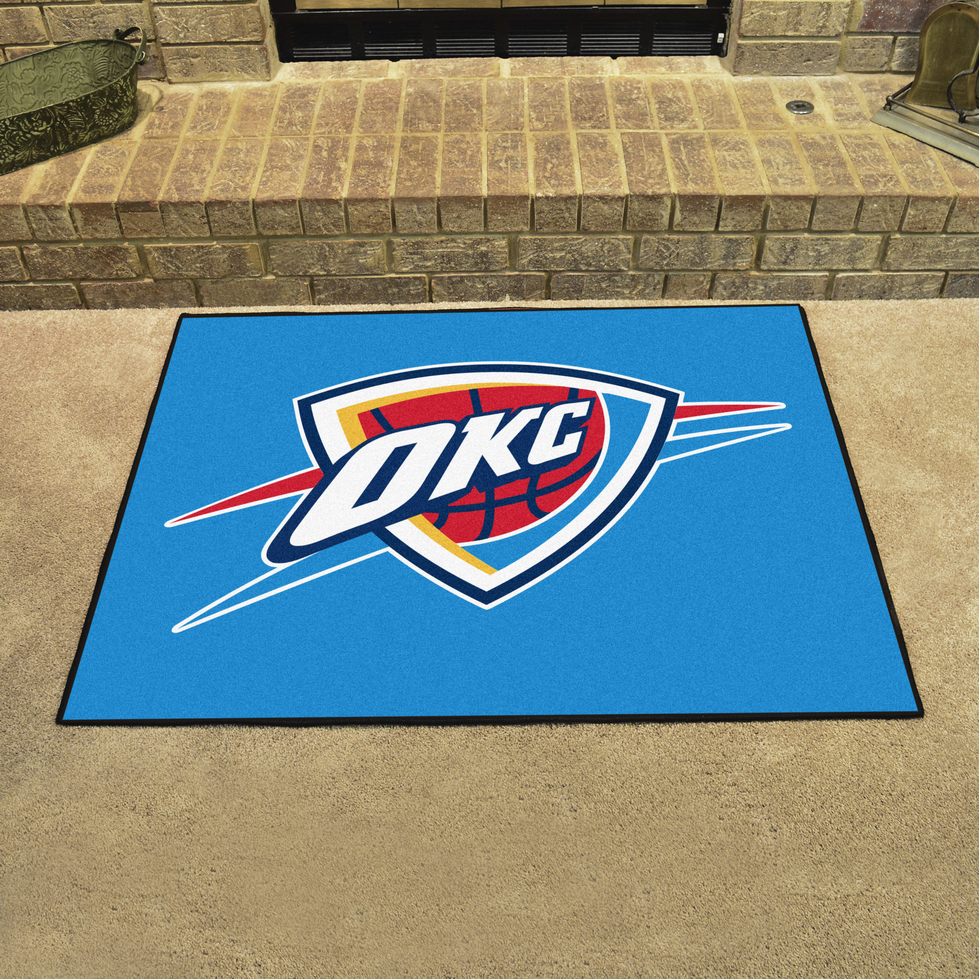 Oklahoma city thunder all star 34 x 45 floor mat buy at for Parquet mat ou satine