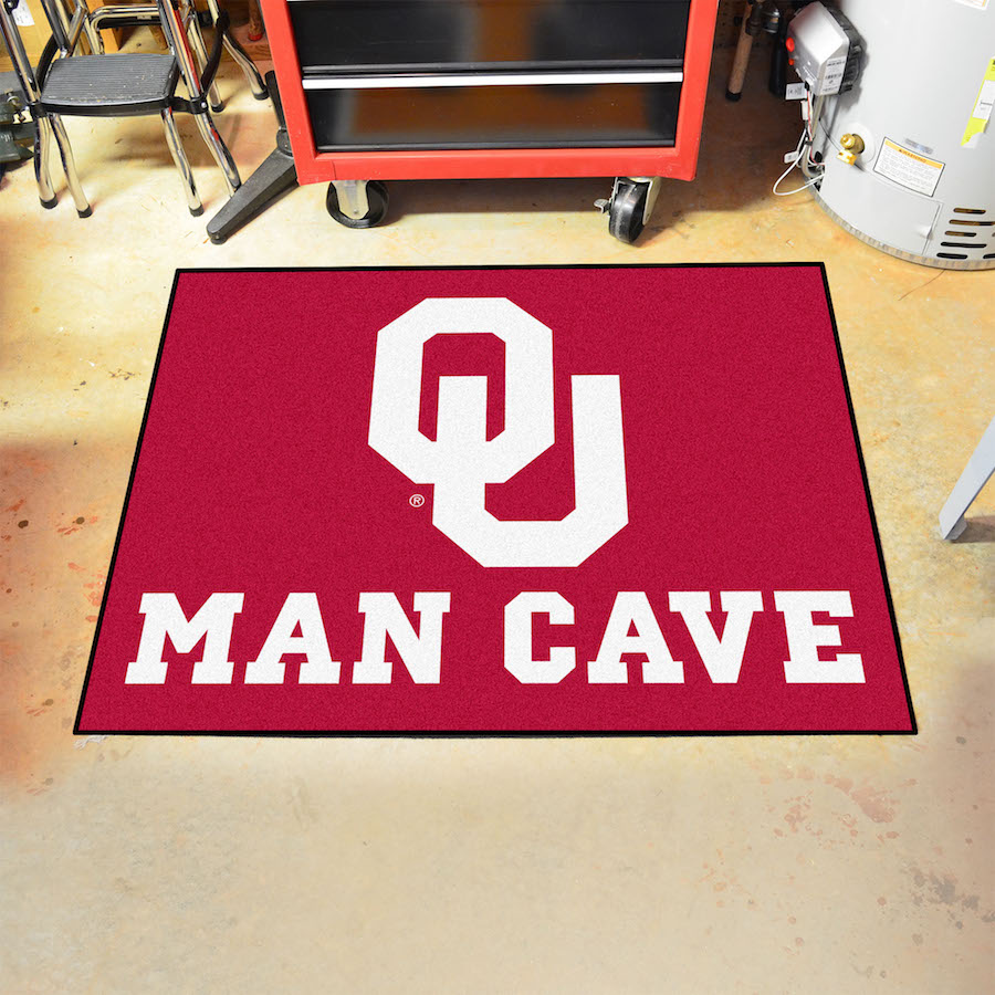 Oklahoma Sooners ALL STAR 34 x 45 MAN CAVE Floor Mat
