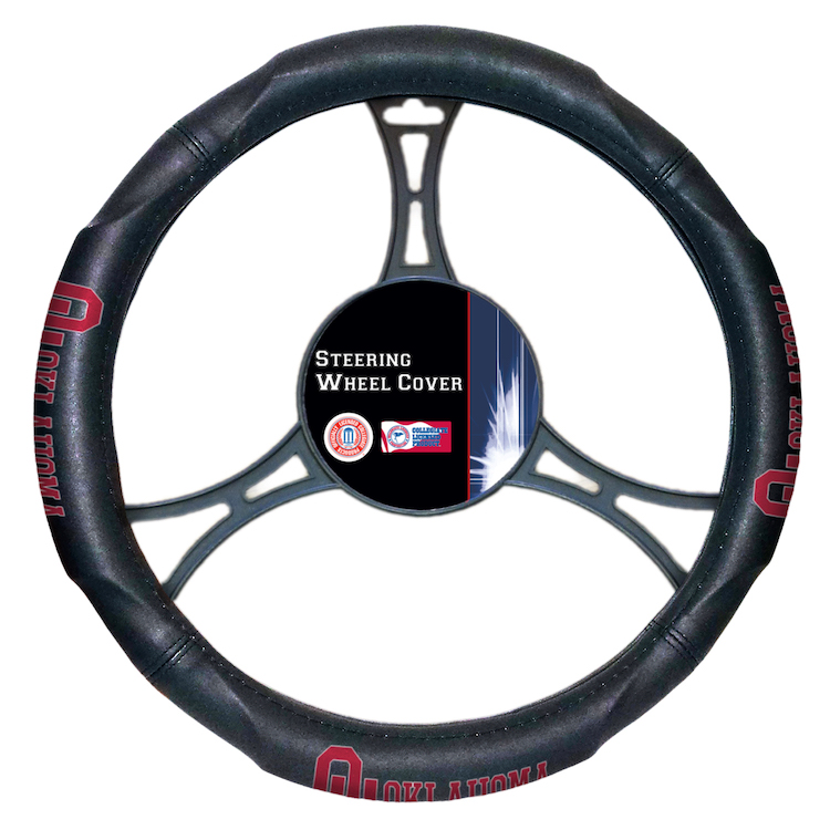 Oklahoma Sooners Steering Wheel Cover