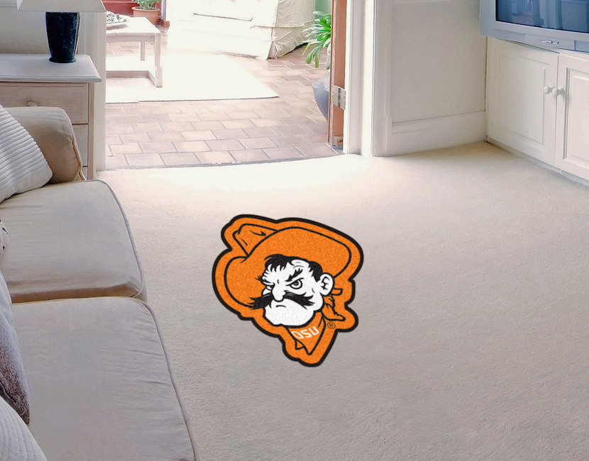 Oklahoma state cowboys mascot 36 x 48 floor mat buy at for Parquet mat ou satine