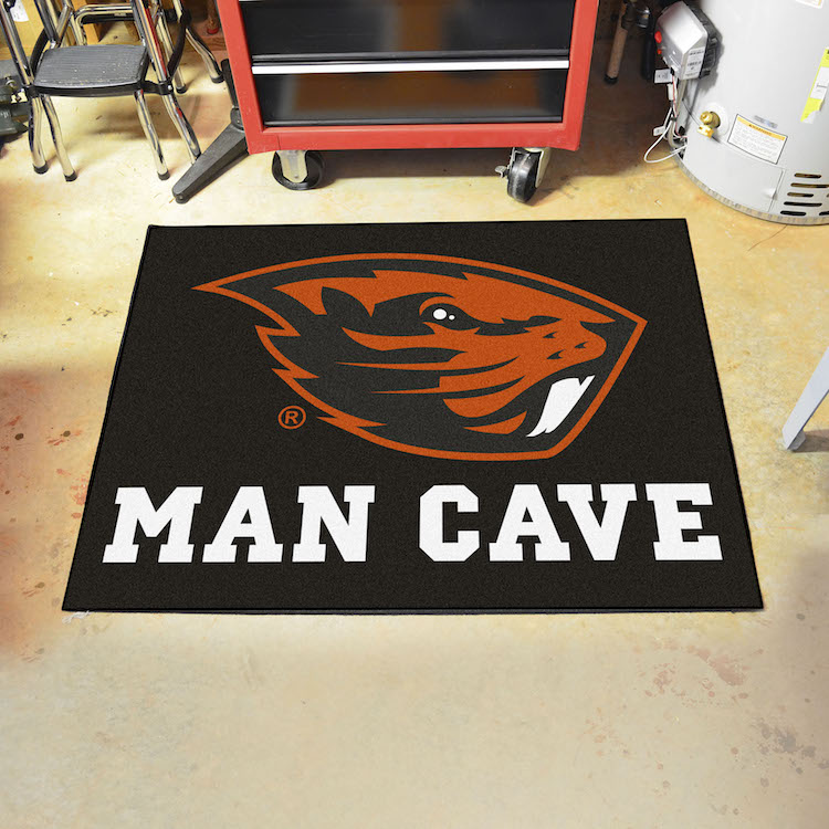 Oregon State Beavers ALL STAR 34 x 45 MAN CAVE Floor Mat