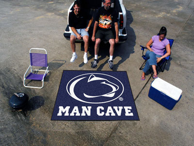 Penn State Nittany Lions MAN CAVE TAILGATER 60 x 72 Rug