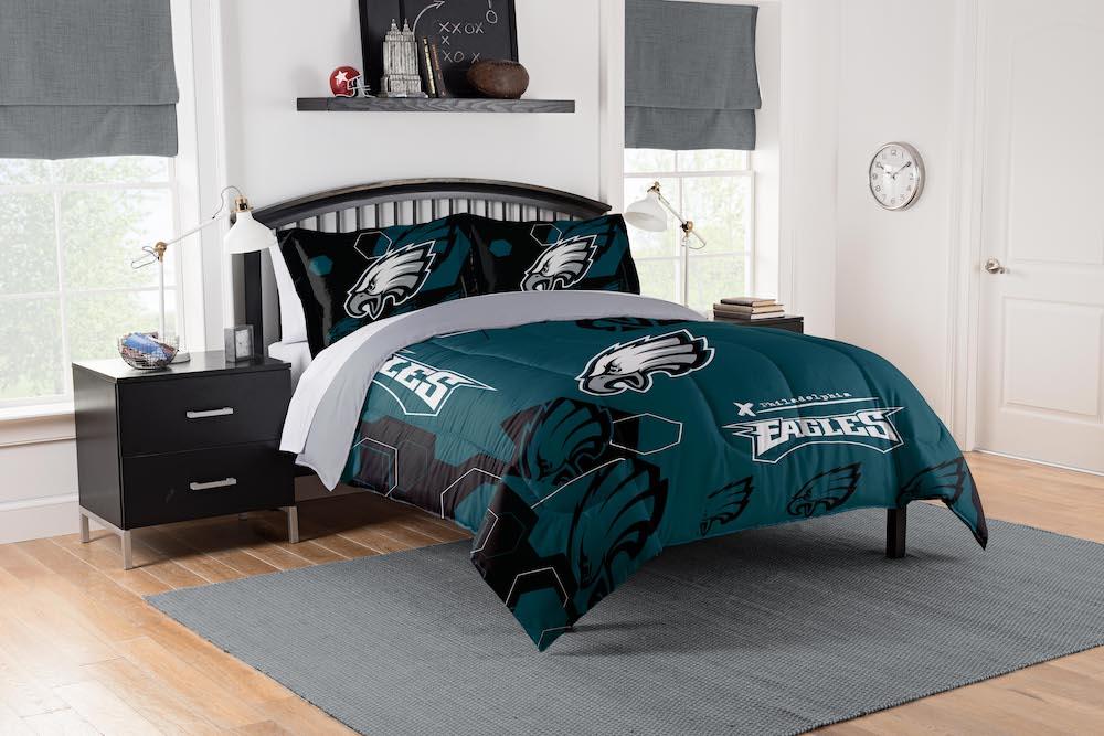 Philadelphia Eagles King Size Comforter And 2 Shams Buy