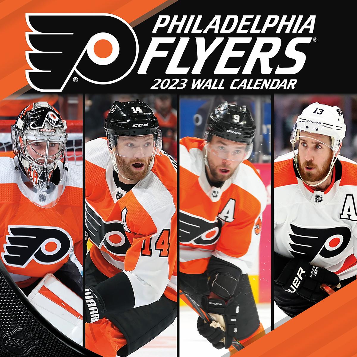 Philadelphia Flyers 2018 Nhl Wall Calendar Buy At Khc Sports