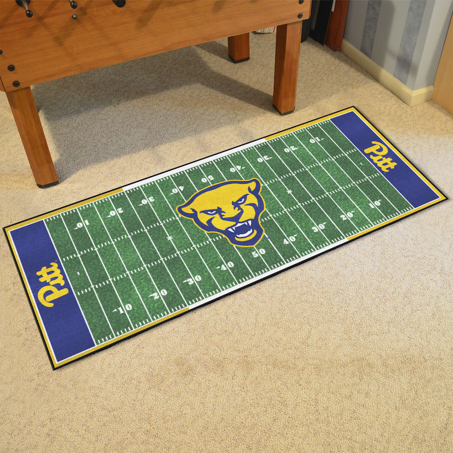 Pittsburgh Panthers Football Field Runner 30 X 72 Floor