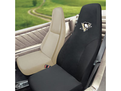 pittsburgh penguins seat cover buy at khc sports. Black Bedroom Furniture Sets. Home Design Ideas