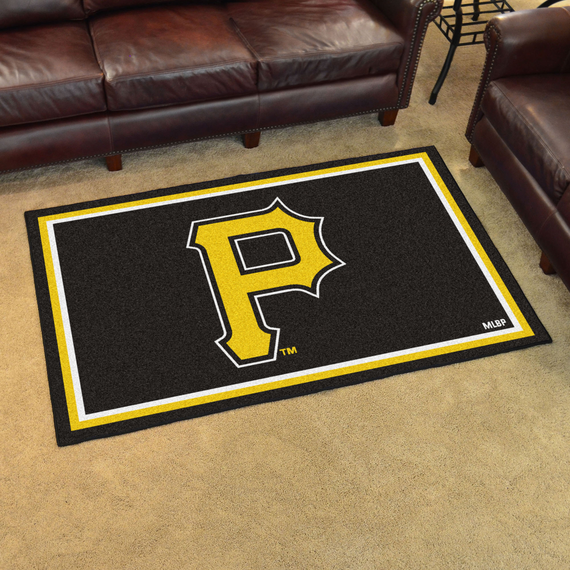 Pittsburgh Pirates 4x6 Area Rug