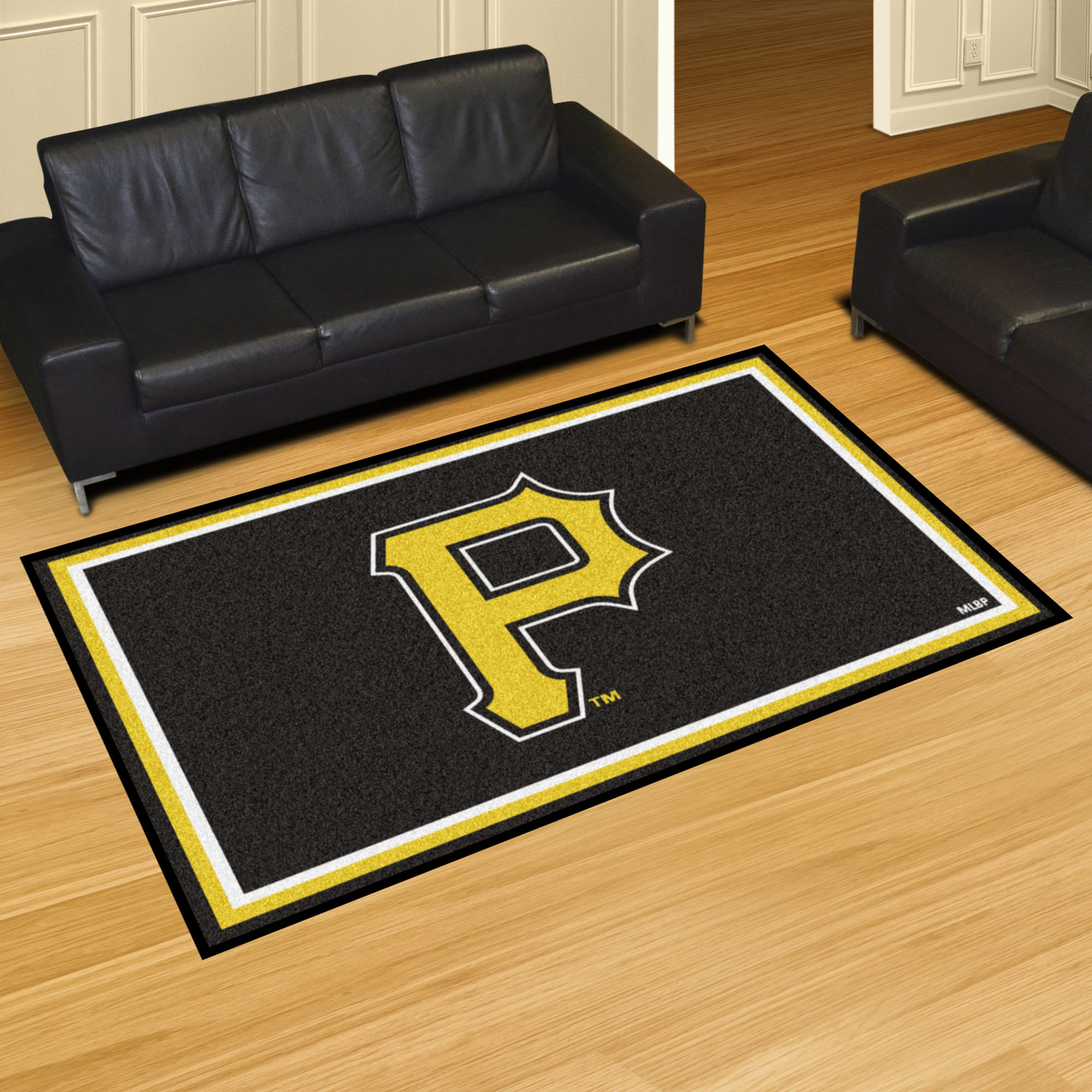 Pittsburgh Pirates 5x8 Area Rug
