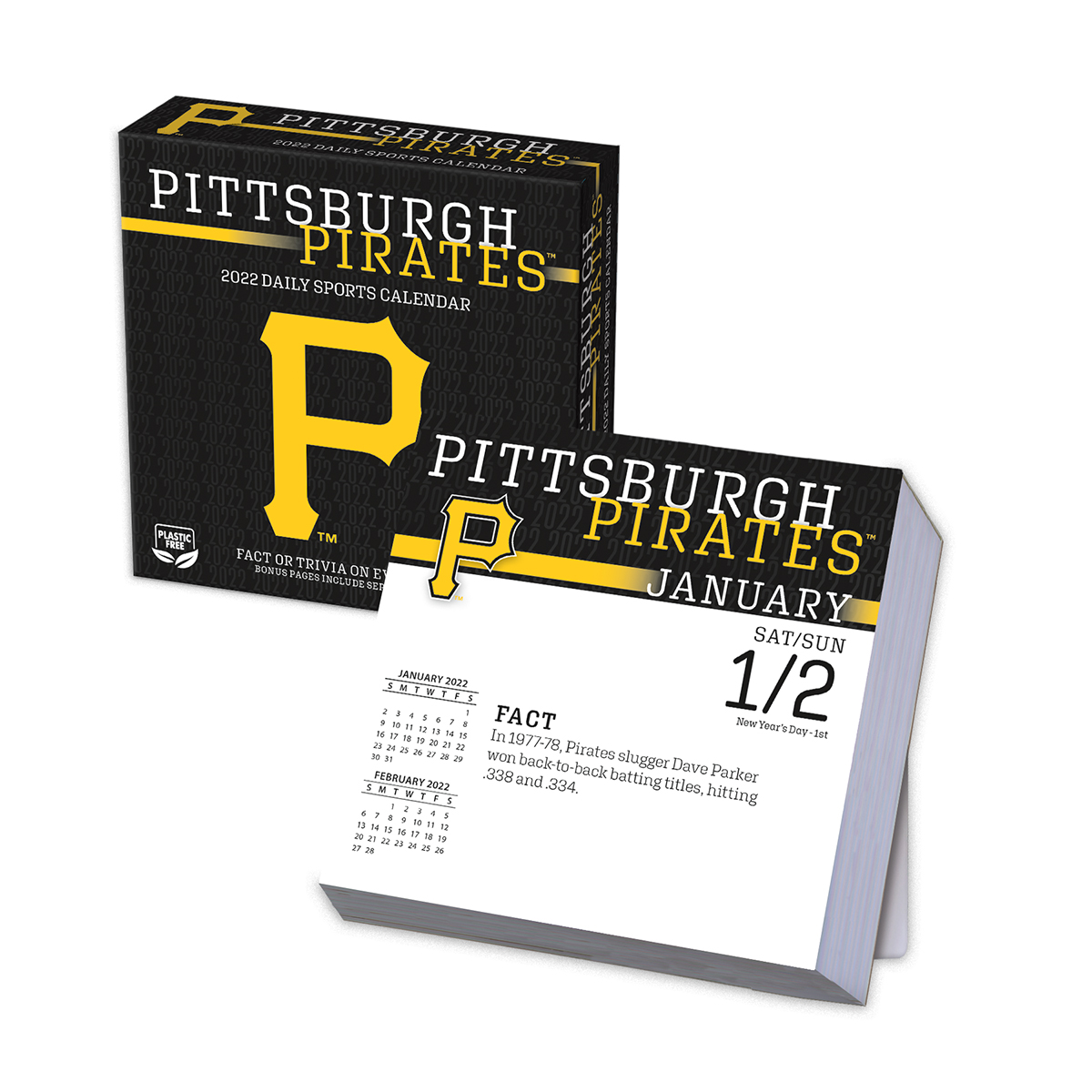 Pittsburgh Pirates 2019 Page-A-Day Box Calendar