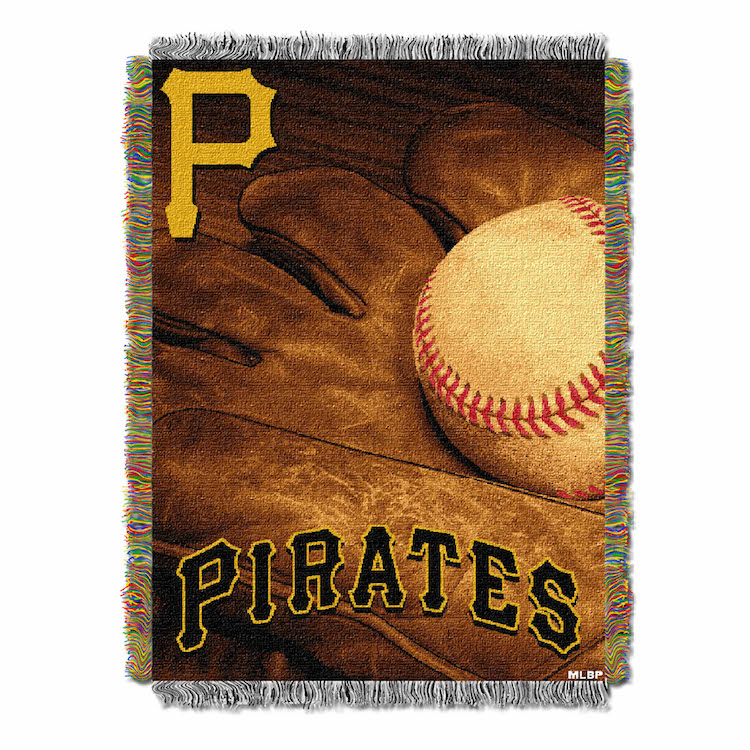 Pittsburgh Pirates Commemorative VINTAGE Tapestry Throw