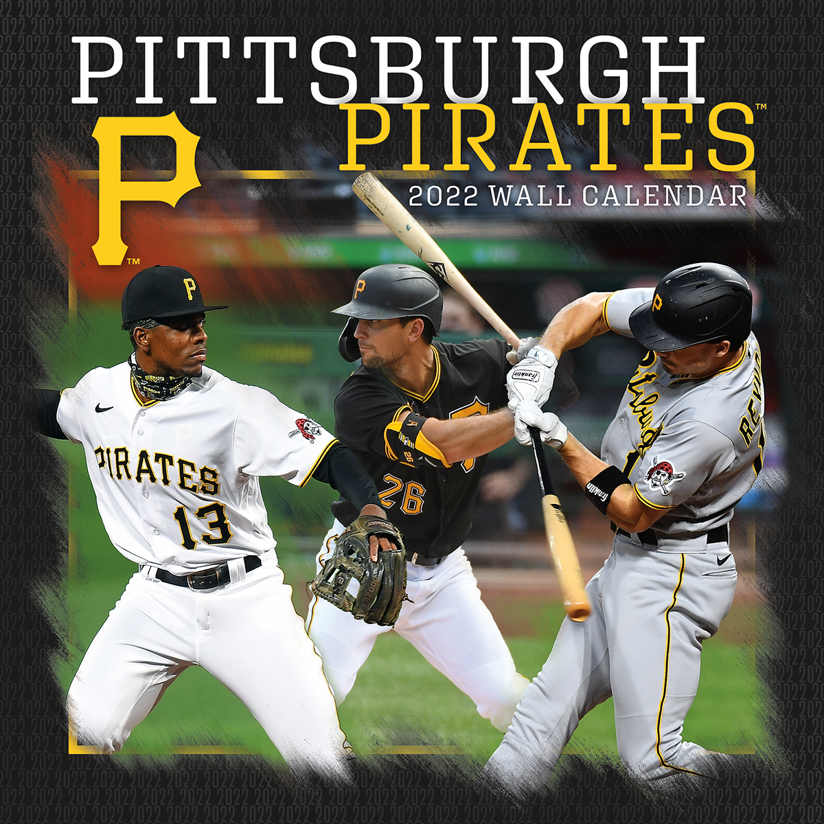 Pittsburgh Pirates 2020 Wall Calendar
