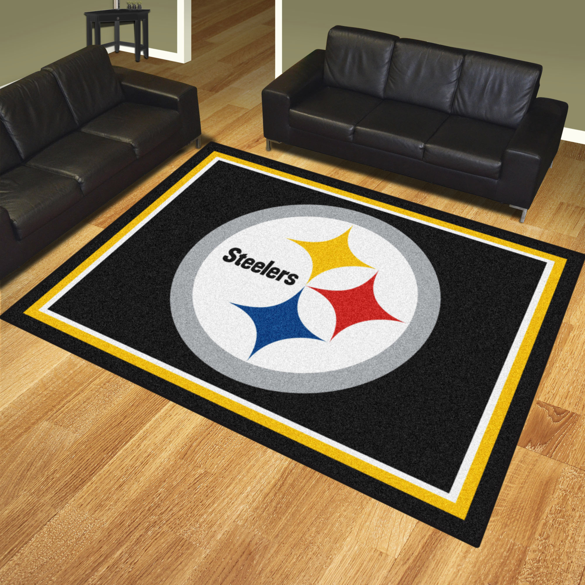 Pittsburgh Steelers Ultra Plush 8x10 Area Rug