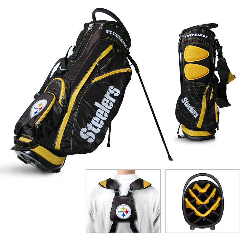Pittsburgh Steelers Fairway Carry Stand Golf Bag