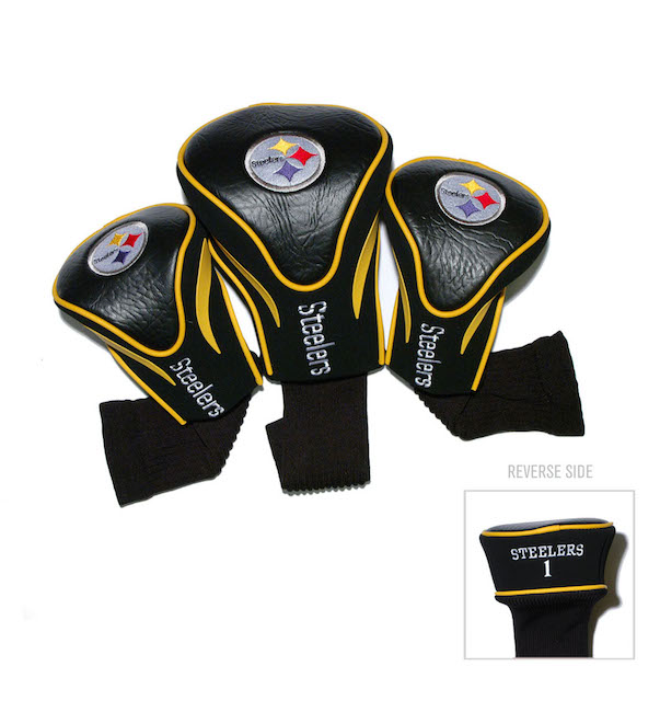 Pittsburgh Steelers 3 Pack Contour Headcovers
