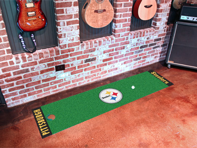 Pittsburgh Steelers Putting Green Mat 18 x 72