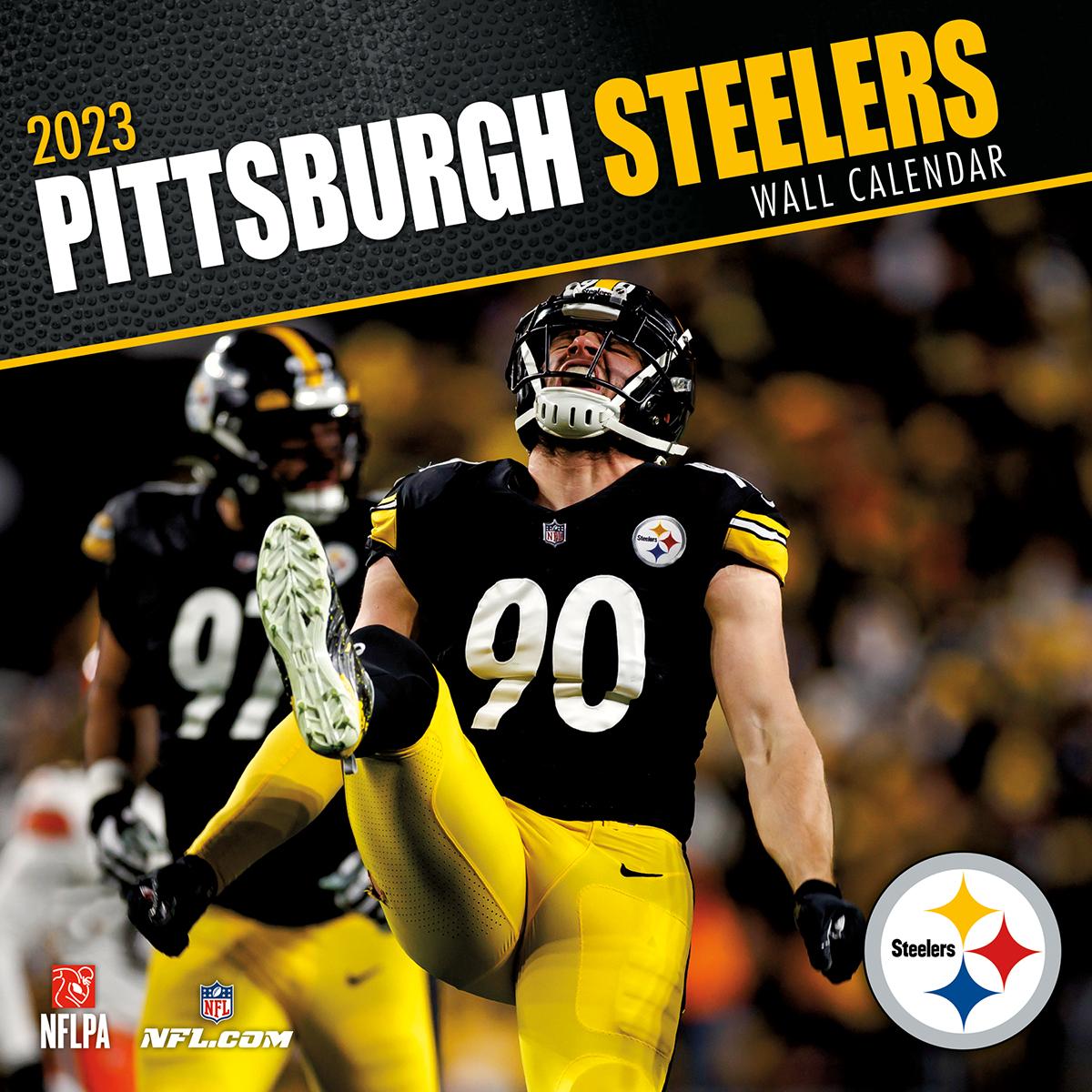 Pittsburgh Steelers 2019 Nfl Mini Wall Calendar Buy At
