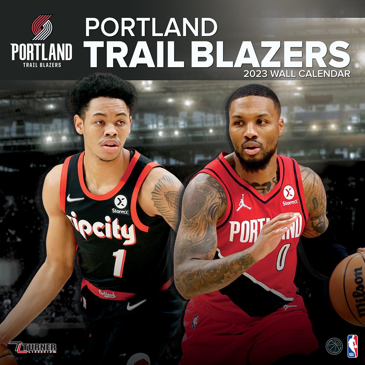 Portland Trail Blazers 2019 Wall Calendar