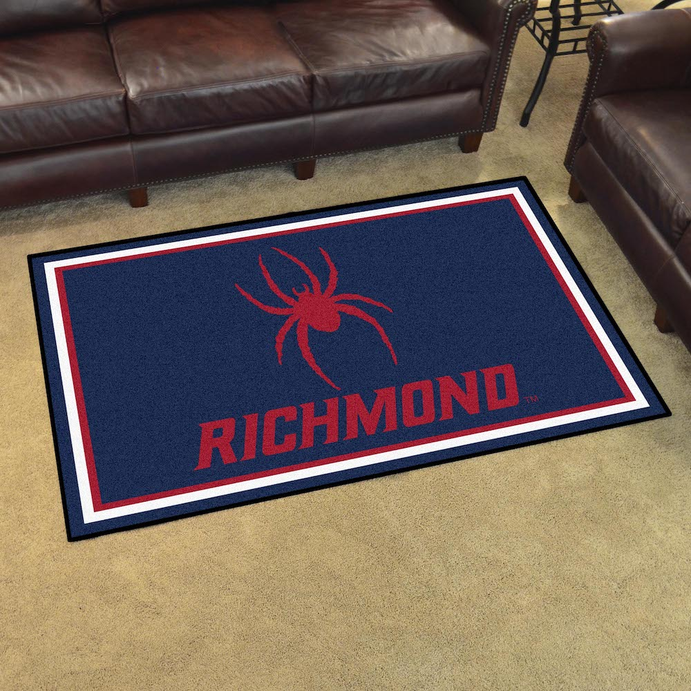 Richmond Spiders 4x6 Area Rug