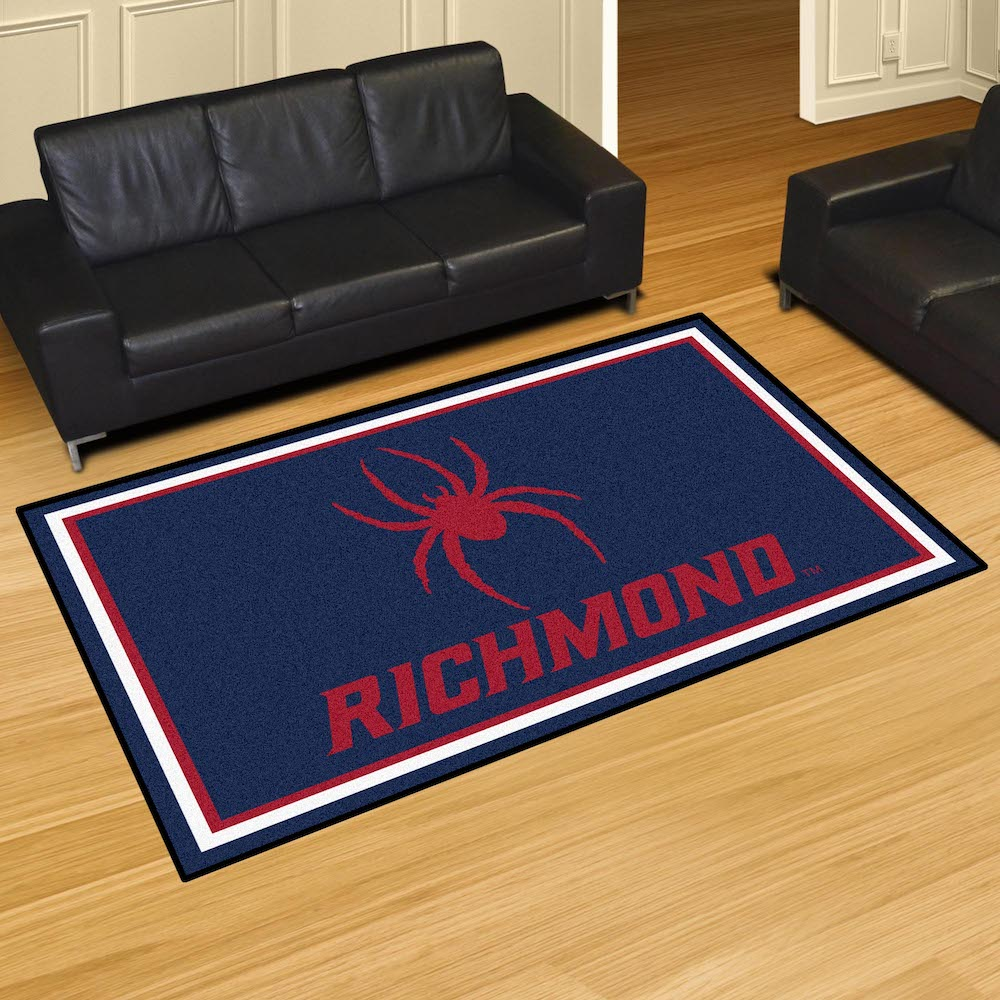Richmond Spiders 5x8 Area Rug
