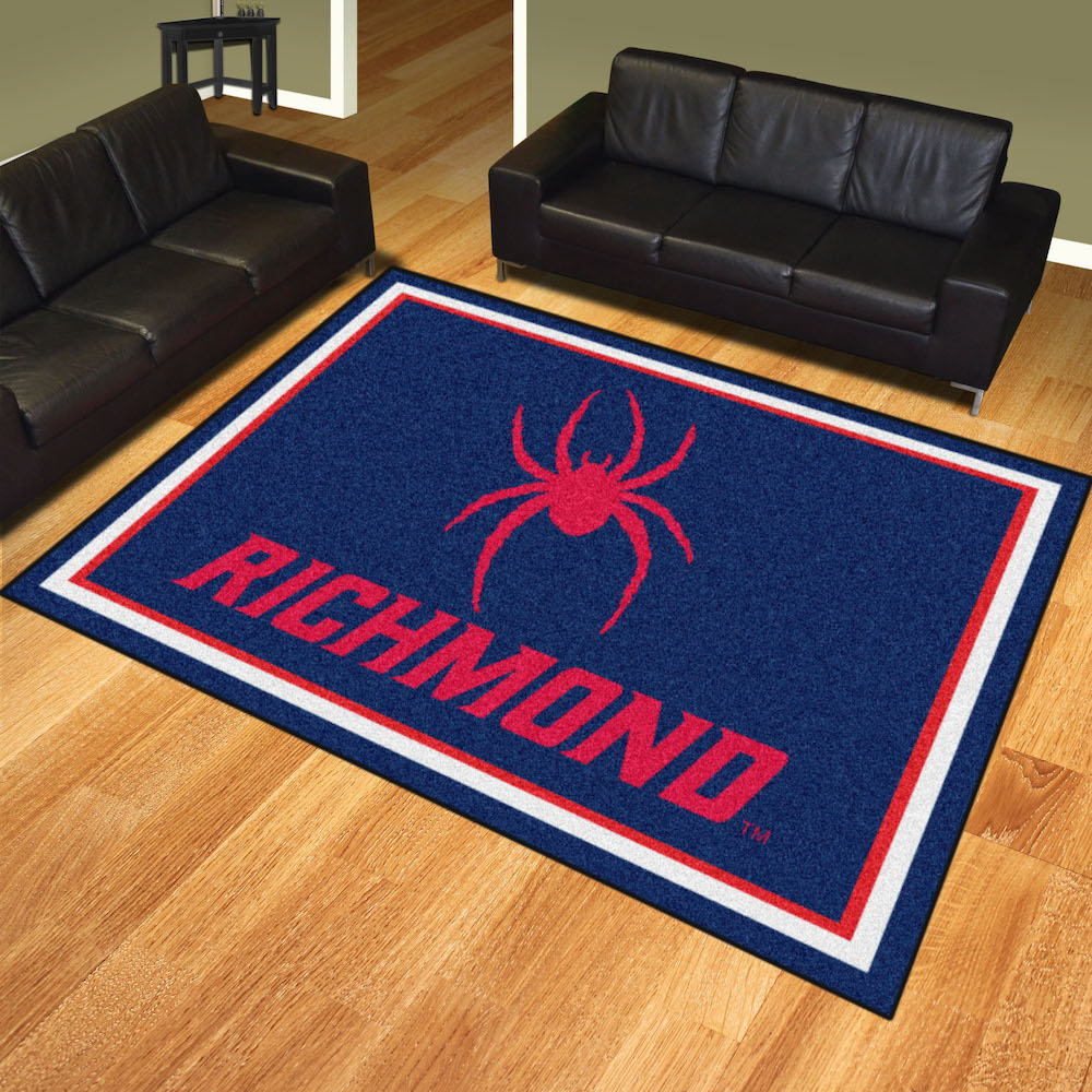 Richmond Spiders Ultra Plush 8x10 Area Rug