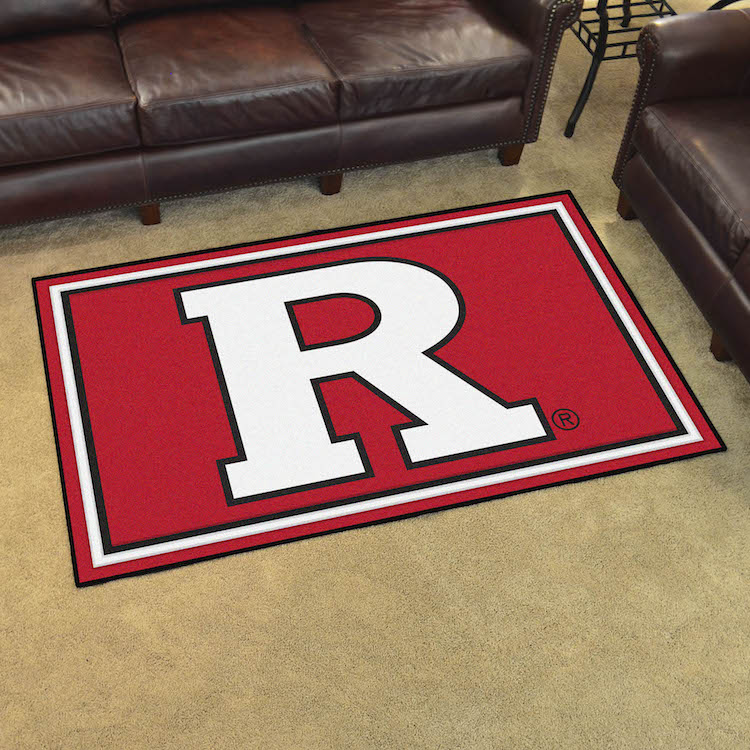 Rutgers Scarlet Knights 4x6 Area Rug