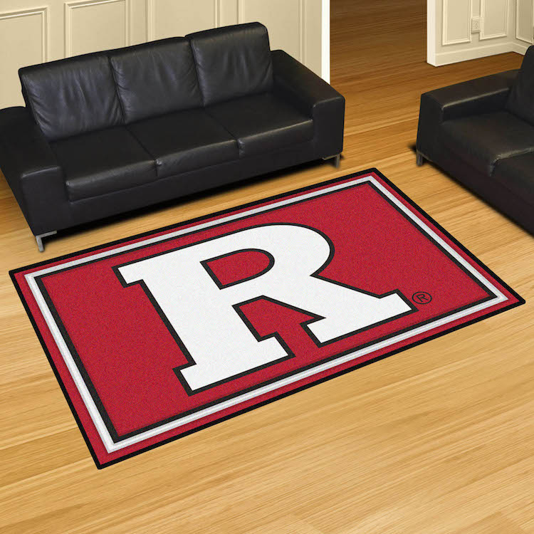 Rutgers Scarlet Knights 5x8 Area Rug