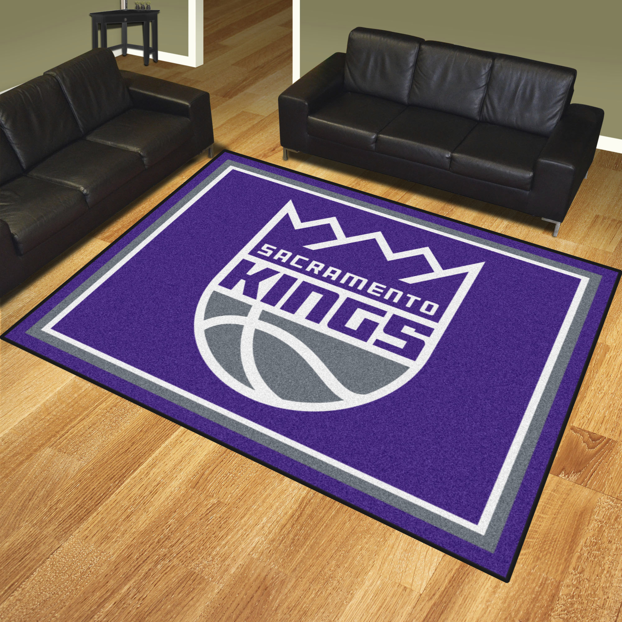 Sacramento Kings Ultra Plush 8x10 Area Rug Buy At Khc Sports