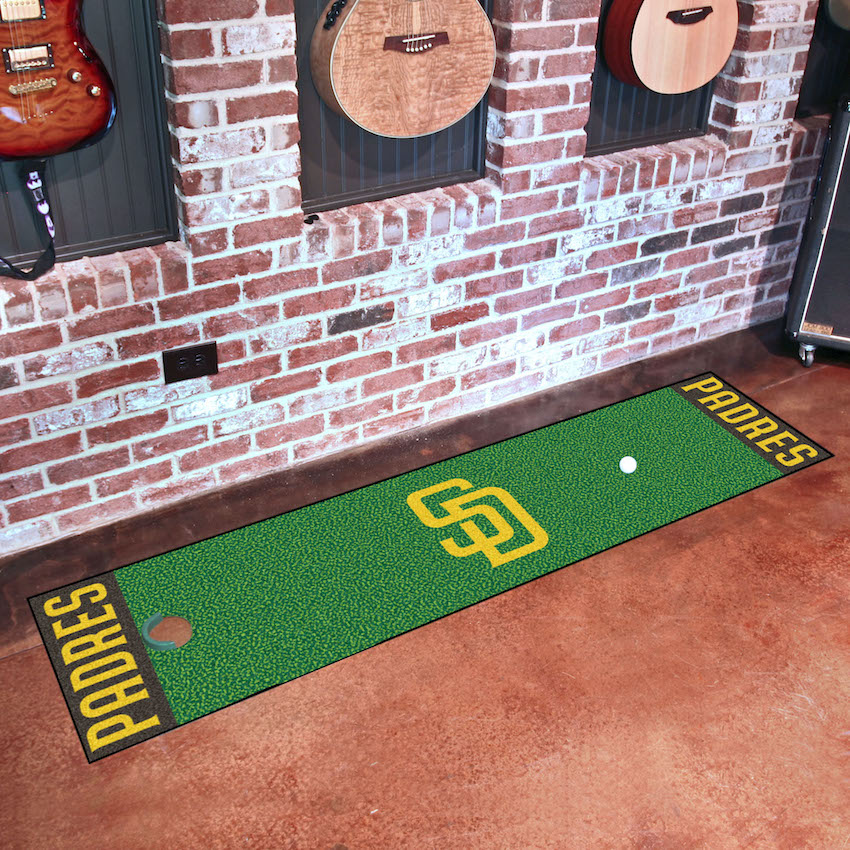 San Diego Padres Putting Green Mat 18 x 72
