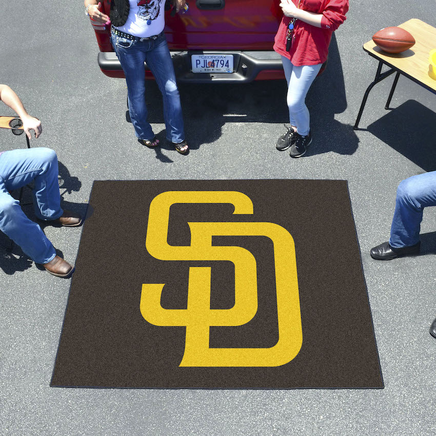 San Diego Padres TAILGATER 60 x 72 Rug