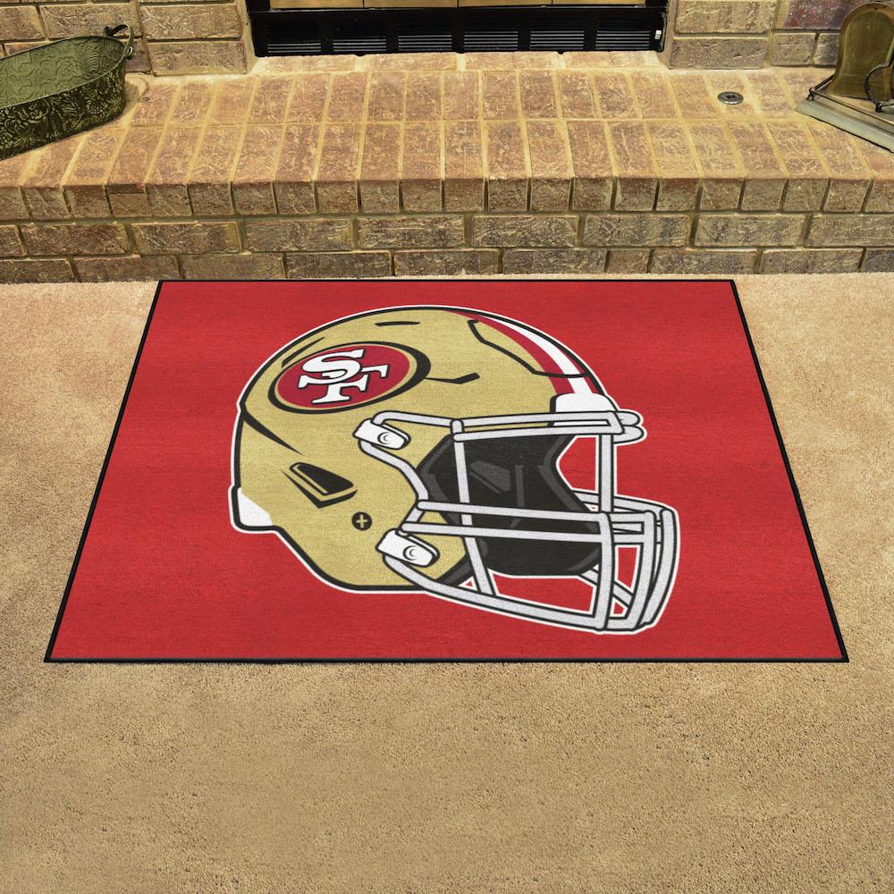 Florida State Seminoles Football Floor Mat: San Francisco 49ers ALL STAR 34 X 45 Floor Mat