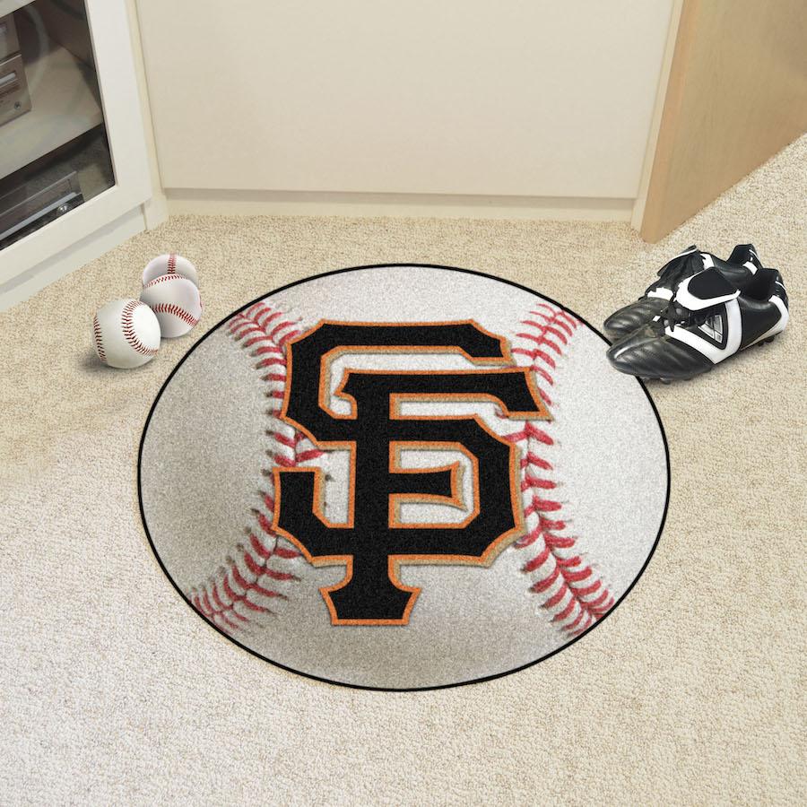 San Francisco Giants Baseball Floor Mat