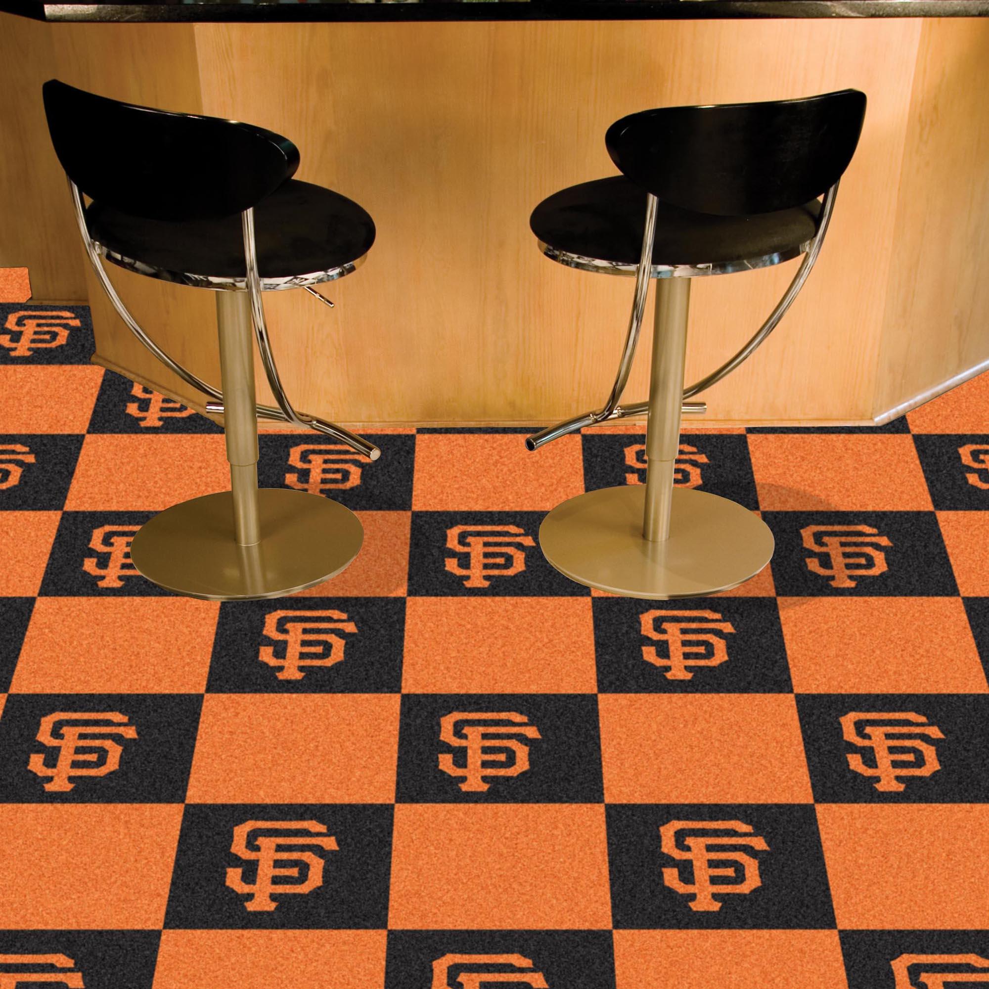San Francisco Giants Carpet Tiles 18x18 In Buy At Khc Sports
