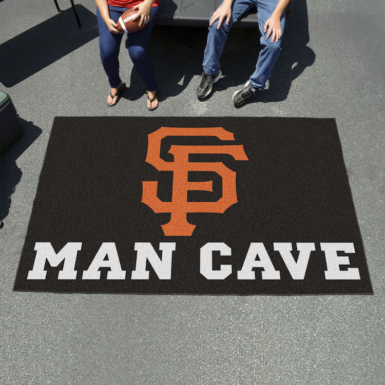 San Francisco Giants UTILI-MAT 60 x 96 MAN CAVE Rug