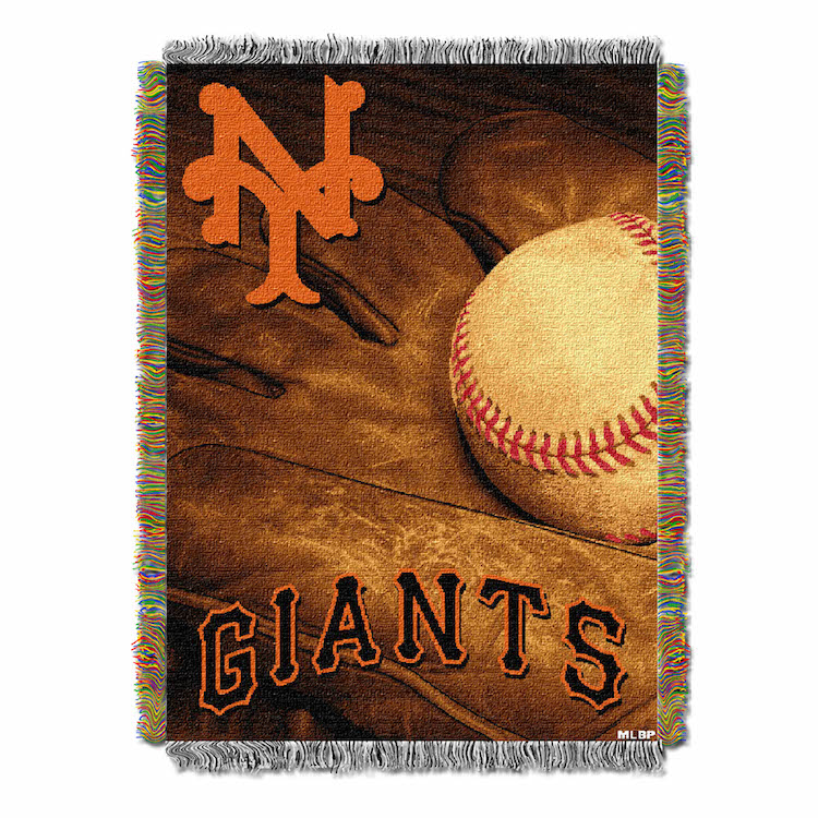 San Francisco Giants Commemorative VINTAGE Tapestry Throw
