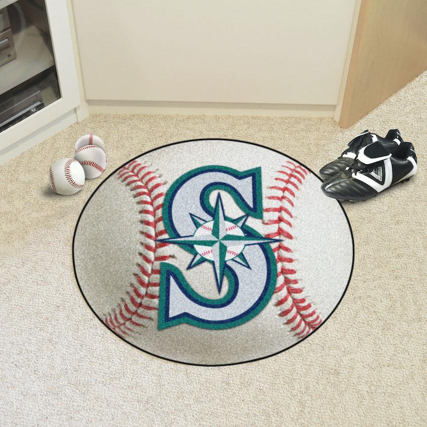 Seattle Mariners Baseball Floor Mat