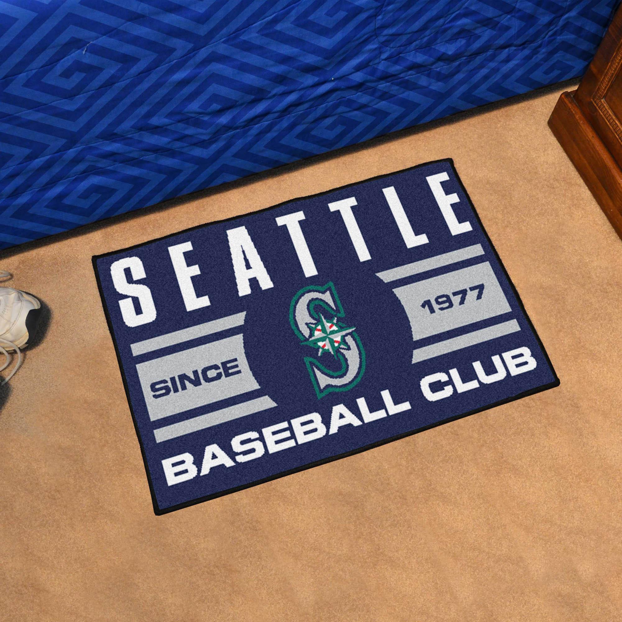 Seattle Mariners 20 X 30 Uniform STARTER Floor Mat