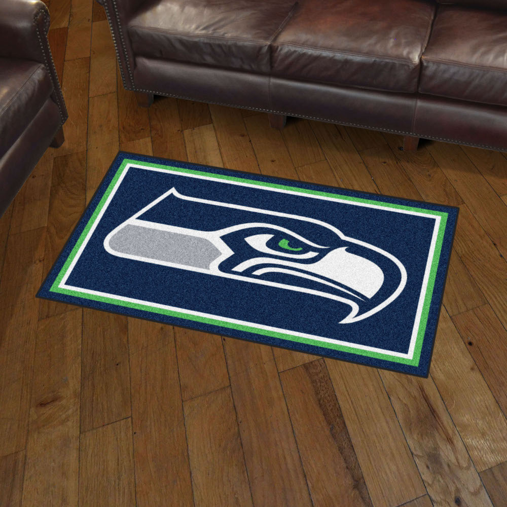 Seattle Seahawks 3x5 Area Rug