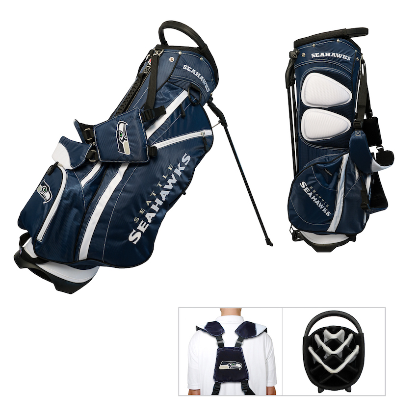 Seattle Seahawks Fairway Carry Stand Golf Bag