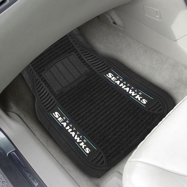 Seattle Seahawks Deluxe 20 x 27 Car Floor Mats